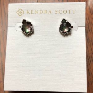Kendra Scott mother of pearl Tessa stud earrings